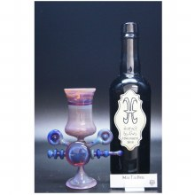 Limited Edition Hurley Glass x Trautman Glass Mai Tai Pink