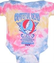 Grateful Dead Kids Music Hall Tie Dye Onesie
