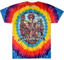 Grateful Dead Bertha Rainbow Tie Dye