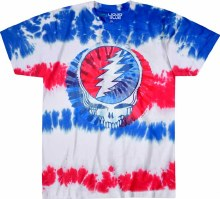 Grateful Dead American Steal Your Face Tie Dye