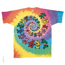 Grateful Dead Kids Spiral Bears Youth