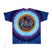 Grateful Dead Queen of Spades Tie Dye