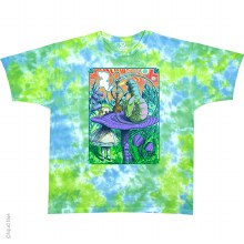 Alice in Wonderland Tie Dye