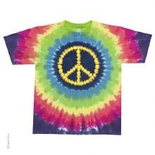 Hippie Peace V Dye