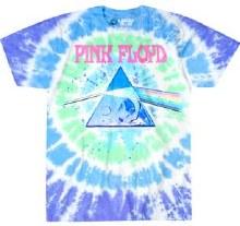 Pink Floyd Dark Side Oil Paint Tie Dye