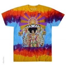 Jimi Hendrix Bold as Love Tie Dye