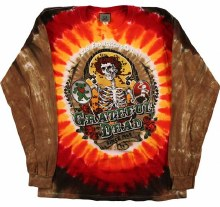 Grateful Dead Bay Area Beloved Tie Dye Long Sleeve