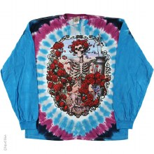 Grateful Dead 30th Anniversary  Long Sleeve Tie Dye