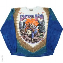 Grateful Dead Banjo Tie Dye Long Sleeve