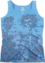 Grateful Dead Ladies Skeleton Tank Top
