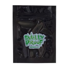 Smelly Proof Bag Black Extra Extra Small