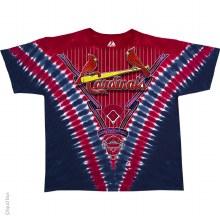 St. Louis Cardinals V Tie Dye