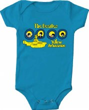The Beatles Kids Portholes Onesie