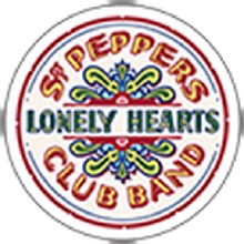 The Beatles Sgt Peppers Lonely Hearts Club Band Sticker