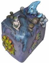 Mermaid Moon Magic Lock Box