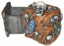 Skull Magic Lock Box