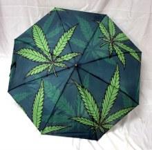 Marijuana Leaf Umbrella