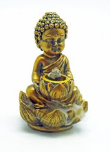 Buddha Lotus Back Flow Incense Burner