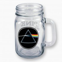 Pink Floyd Dark Side Mason Jar