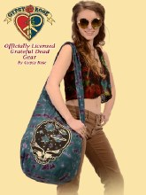 Grateful Dead Stealie The Night Away Tie Dye Bag