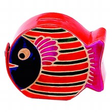 Leather Fish Coin Bank