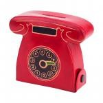 Leather Telephone Coin Bank