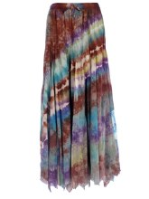 Tie Dyed Spinner Skirt