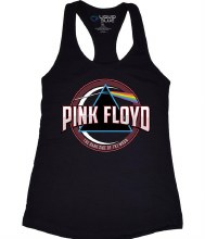 Pink Floyd Ladies Blue Prism Tank