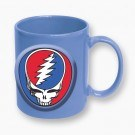 Grateful Dead Steal Your Face Blue Mug