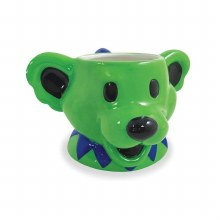 Grateful Dead Dancing Bear Molded Mug
