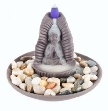 Buddha Sitting Backflow Incense Burner