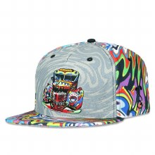 Grassroots Further Bus Psychedelic Snapback L/XL