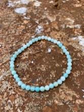 Energy Bead Bracelet Amazonite 4mm