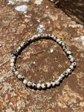 Energy Bead Bracelet Dalmation Jasper 4mm