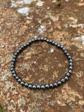 Energy Bead Bracelet Hematite 4mm