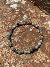 Energy Bead Bracelet Indian Agate 4mm