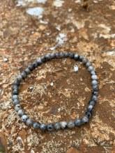 Energy Bead Bracelet Labradorite 4mm