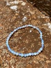 Energy Bead Bracelet Rainbow Moonstone 4mm