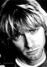 Kurt Cobain Poster Flag