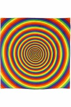Equality Rainbow Circles Bandana