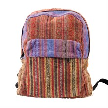 Multicolor Striped Backpack