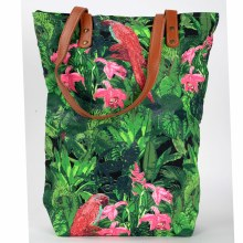 Birds in Their Habitat Tote Bag