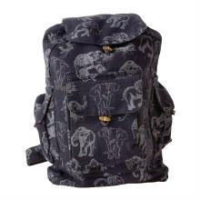 Black and White Elephant Backpack
