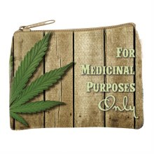 For Medicinal Purposes Coin Bag
