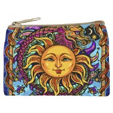 Dragon Sun Cosmetic Bag
