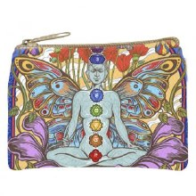 Chakra Lotus Cosmetic Bag