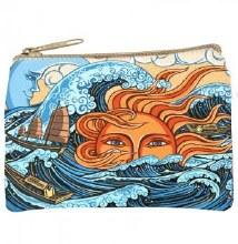 Celestial Ocean Cosmetic Bag