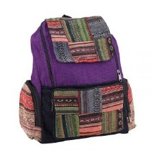 Color Stripe Laptop Backpack