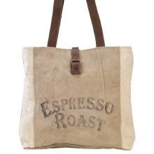 Espresso Roast Tote by Clea Ray