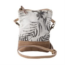 Leaf Pring Passport Bag by Clea Ray